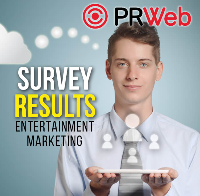 survey result entertainment marketing