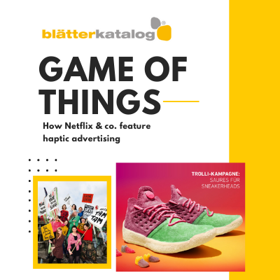 Game of Things - How Netflix & co. feature haptic advertising