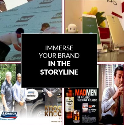 immerse your brand in the storyline